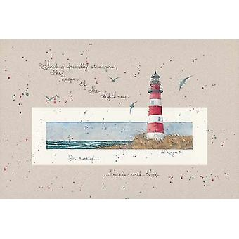 The Keeper of the Lighthouse Poster Print by D Morgan (18 x 12)