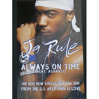 Ja Rule Always On Time Poster