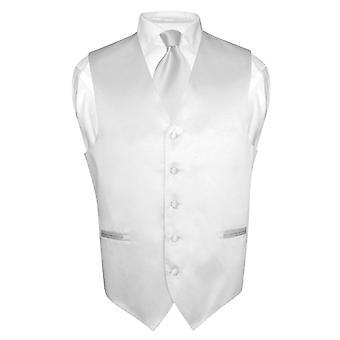 Miesten Dress liivi & kravatti Solid kaulan Tie asettaa puku tai smokki