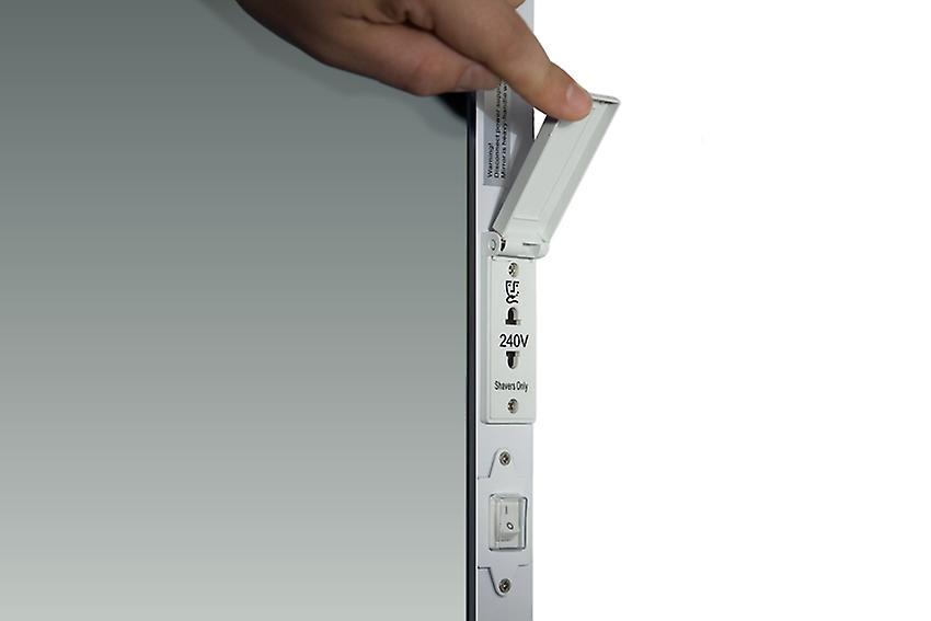 Galvin Shaver Edge LED Bathroom Mirror Demister pad & sensor k8401h