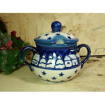 Zuckerdose, Höhe 10 cm, Ø 12 cm, Signature 100 - Keramikgeschirr - BSN 22028