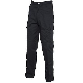 Uneek Mens Uneek Knee Pad Multi Pocket Cargo Workwear Trousers UC904