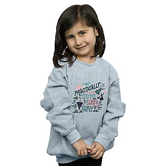 Disney Girls Mary Poppins Practically Sweatshirt