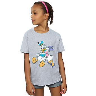 Disney Girls Donald And Daisy Duck Kiss T-Shirt