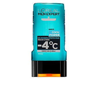 L'Oreal Make Up Men Expert Shower Gel Total Cool Power 300 ml pentru barbati