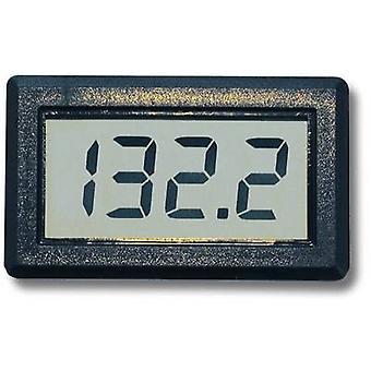 Beckmann & Egle EX2071Digital panelowy pomiarowy urządzenia, zakres pomiarowy 0 - 199,9 V/DC, napięcie miernik panelowy, montażu wymiary 46 x 26,5 mm
