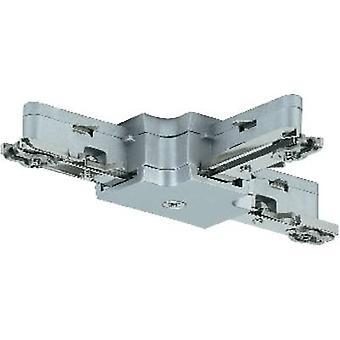 Paulmann 97656 High voltage mounting rail T-connector Chrome (matt)