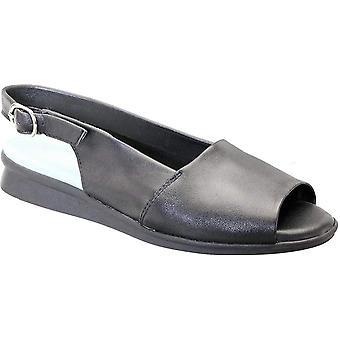 David Tate Womens norma Open Toe Casual Slingback Sandals