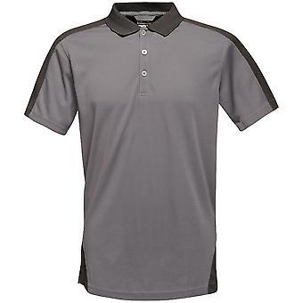 Regatta Herren Kontrast Coolweave schnell trocken Arbeit Polo-Shirt
