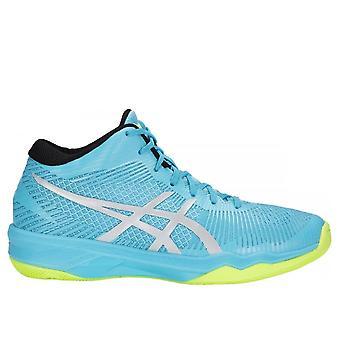 Voleibol de ASICs vôlei Elite FF MT B750N400 sapatos de mulheres todo ano