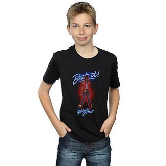 Michael Jackson pojkar slå det rök T-Shirt