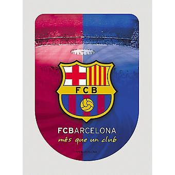 FC Barcelona 3D mærkat