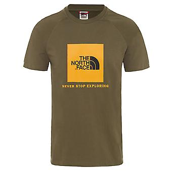 The North Face Urban Exploration Men's T-Shirt Raglan Red Box