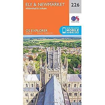 Soham, OS Explorer Map (226) Ely und Newmarket und Mildenhall