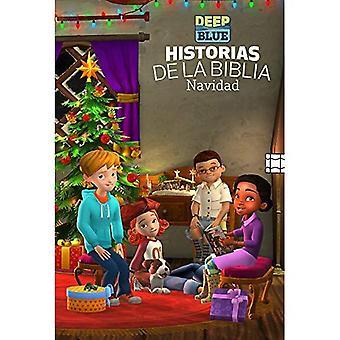 DEEP BLUE BIBLE STORYBOOK CHRISTMAS EDITION - SPANISH