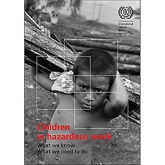Kinderen in gevaarlijke werk: wat We weten, wat We moeten doen