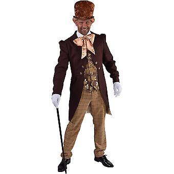 Mannen kostuums Victoriaanse luxe kostuum mannen