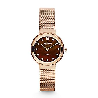 Skagen women's Watch with metal plated stainless steel 456SRR1