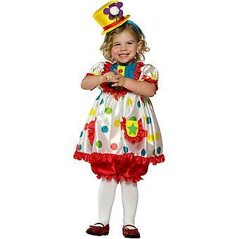 Clown Girl Child Costume 2