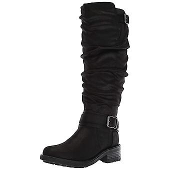 Carlos by Carlos Santana Womens Selena Fabric Round Toe Knee High Fashion Boots