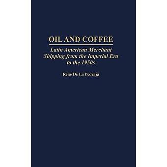 Óleo e café latino-americano de comerciante envio da época Imperial até a década de 1950 por de La Pedraja & Rene