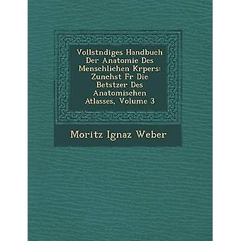 Vollst Ndiges Handbuch Der Anatomie Des Menschlichen K Rpers Zun Chst Fur Die Betstzer Des Anatomischen atlassen Volume 3 door Weber & Moritz Ignaz