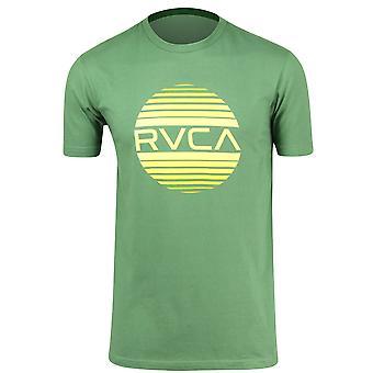 RVCA Mens Sanborn Gradient T-Shirt - Green