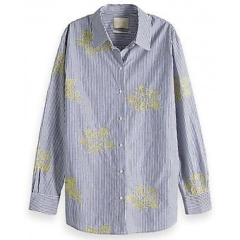 Maison Scotch Striped Patterned Shirt - 149786