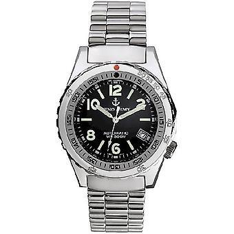 Zeno-watch mens watch Navy diver retro 465N-a1M