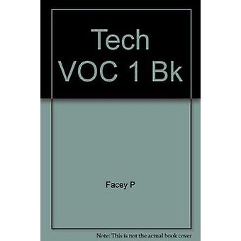 Tech VOC 1 Bk - Book 1 by Facey P - 9781405062817 Book