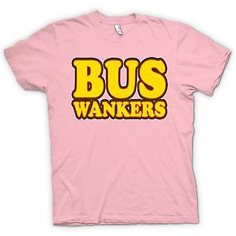 Mens T-shirt-Bus Wankers