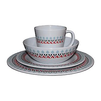 OLPRO Witley Melamine Set  Camping Outdoor Tableware Dishwasher Safe