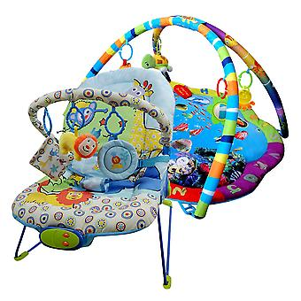 LaDiDa Babysitter and Baby gym Animal Ocean package offer