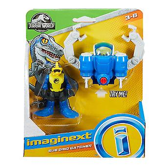 Fisher-Pret Imaginext Jurassic lume sub Dino Catcher