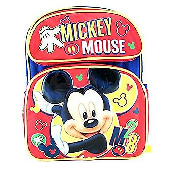 Medium Backpack - Disney - Mickey Mouse Red 3D 14