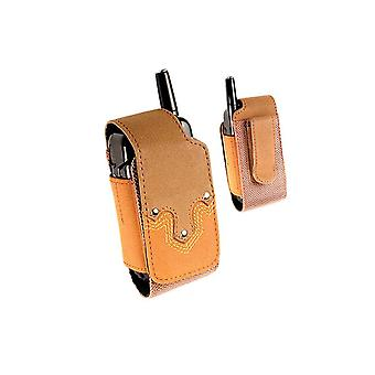 Technocel Universal Western Heritage Series Case for Most Flip Phones - Brown