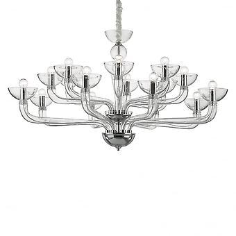 Ideale Lux Casanova 1 lamp hanger Light6 transparant