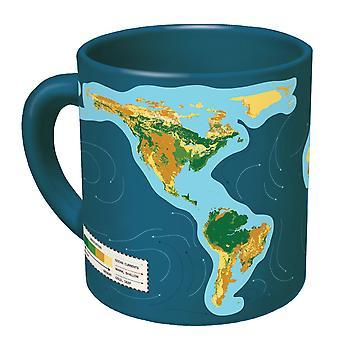 Mok-UPG-klimaatverandering kaart nieuwe koffie kopje 3869