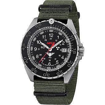 KHS - Wristwatch - Uomini - Enforcer Titan CR con Natoband Olive- KHS. ENFTCR.NO