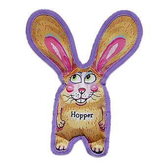 Fuzzu všetky uši Hopper pes hračka