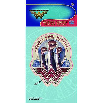 Wonder Woman Fight For Justice Decal