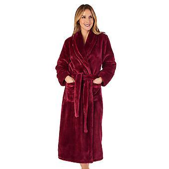 Slenderella HC4342 kvinner ' s Housecoats bringebær rød kappe