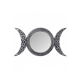 Alchemy Gothic Triple Moon Mirror
