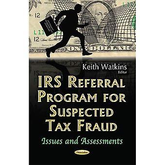 IRS Referenceprogram for mistanke om skattesvig