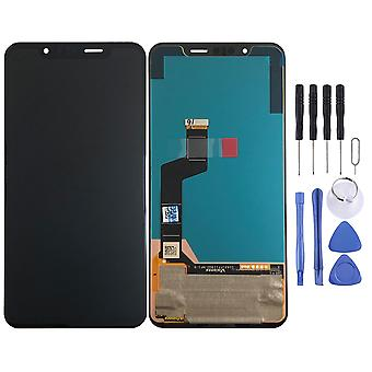 Pour LG G8S ThinQ Display Full LCD Unit Touch Spare Part Repair Black New