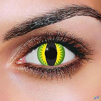 Green Dragon Contact Lenses (Pair)