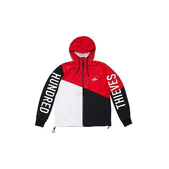 100 Thieves Tri-Color Zip Windbreaker Multi - Clothing