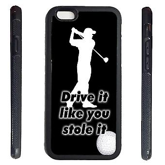 iPhone 6 shell with Drive it like you stole it-Golf picture