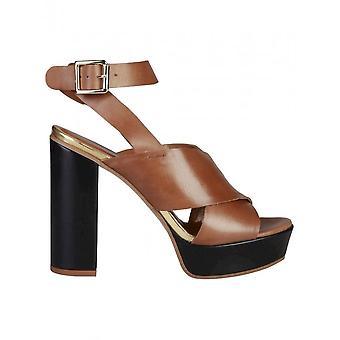 Pierre Cardin - Shoes - Sandal - CELIE_CUOIO - Women - peru,black - 41