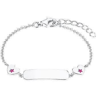 Princess Lillifee Kids Bracelet Ident Bracelet Silver Hearts 2027224